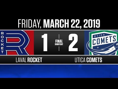 Rocket vs. Comets | Mar. 22, 2019