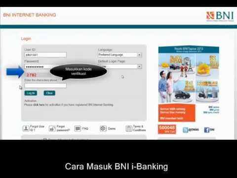 Cara Login BNI Internet Banking