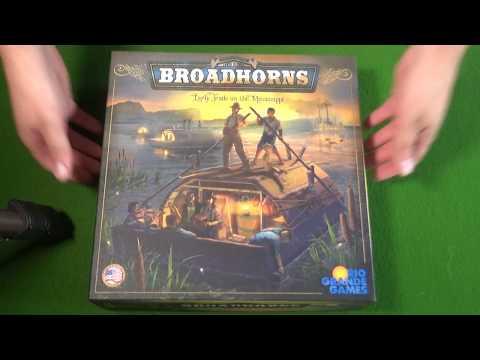 Ötvenedik rész - Broadhorns: Early Trade on the Mississippi - A kocka el van vetve