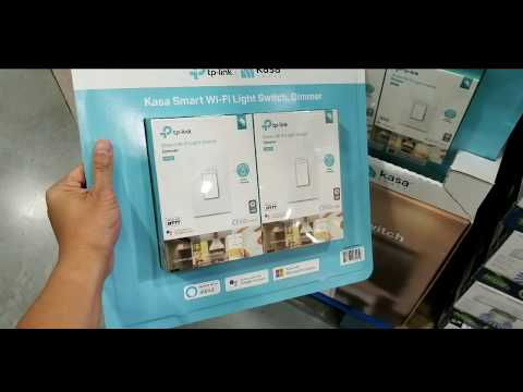 Costco Tp Link Kasa Smart Dimmer Switch 2 Pack 79