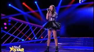 Leona Lewis - 'Homeless'. Vezi cum cântă Bianca Dan, la Next Star!