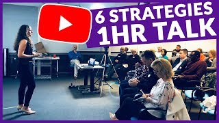 How to Reach a Wider Audience on YouTube: 6 Strategies // VBN 1hr Presentation