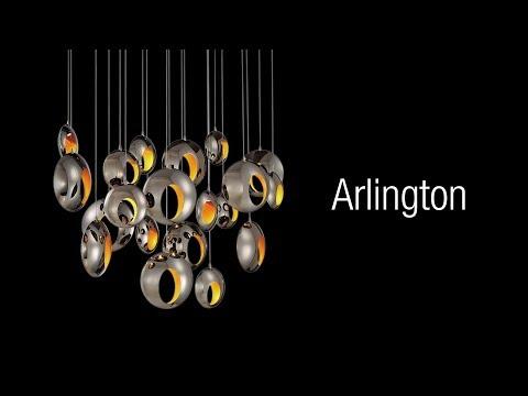 Video for Arlington Chrome One-Light LED Pendant