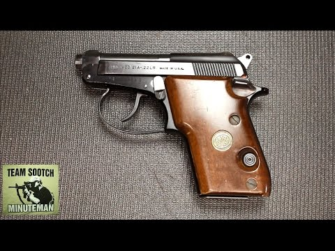 Beretta 21 A Bobcat Inox 22 Long Rifle 2 4in Stainless Pistol - 7+1 Rounds
