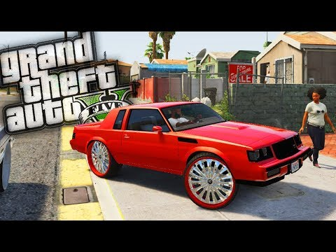 Franklins' NEW Buick GNX Donk! - GTA 5 Real Hood Life - Day 71