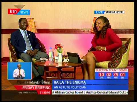 Raila Odinga sings Harry Belafonte's 'Jamaica Farewell'