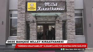"""""""Öğrenen Kıraathaneler"""" sloganıyla kültür hayatına katkı sağlıyor"""