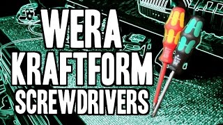 WERA Kraftform Plus Screwdriver Sets (Insulated & Non-Insulated)