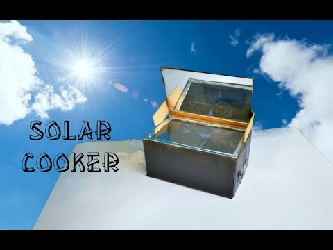 How to Make Solar Cooker At Home - a Cool Science Project