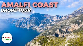 Italys Amalfi Coast Drone Tour In 4K