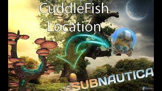 Giant Mushroom Tree Cuddle Fish Egg Location! Subnautica