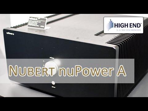 High End 2016: Nubert nuPower A - Class A/B Verstärker