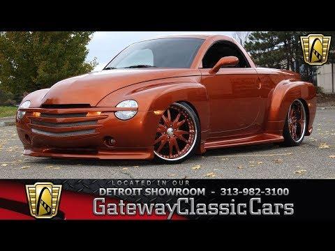 2003 Chevrolet SSR Stock #1316-DET