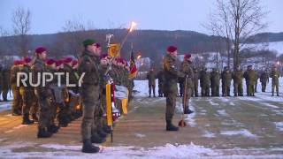 Germany: German battalion prepares to deploy in Lithuania for NATO