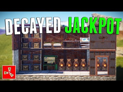 I FOUND A LOADED DECAYING BASE | Rust
