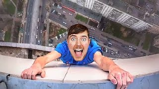 Morgz SAVES MrBeast from falling..