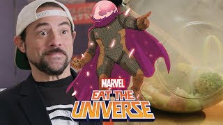 Mysterio inspired crudité with Kevin Smith! | Eat the Universe