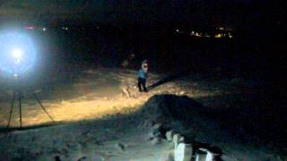preview picture of video 'SNOWBOARD NIGHT Stepnogorsk freeride 2'