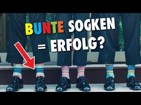 Menschen, die bunte Socken tragen sind erfolgreicher & kreativer! | Tippformativ