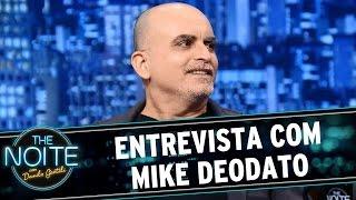 The Noite (28/08/15) - Entrevista Com Mike Deodato