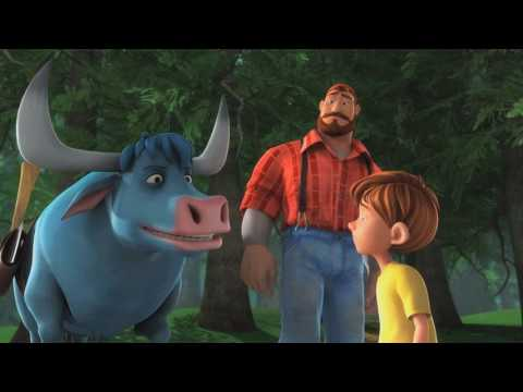 Bunyan and Babe (Clip 'That's an Automobile')