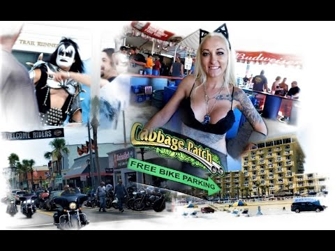Daytona Bike Week AND Cabbage Patch Bar 2017 HD