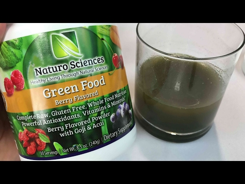 Naturo Sciences Complete Raw Whole Natural Greens Berry Flavor Drink Mix review