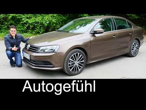 2015/2016 Volkswagen Jetta Facelift FULL REVIEW test driven Vento Sagitar Lavida - Autogefühl