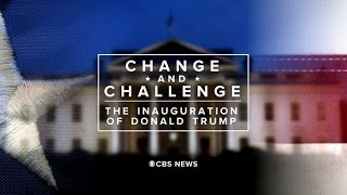 Change and Challenge: The Inauguration of Donald Trump