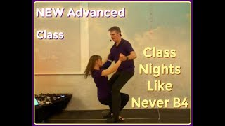 NEW Advanced Modern Jive Class No1, A Dip into a Step Over into a continuation of the Dip  Keith &