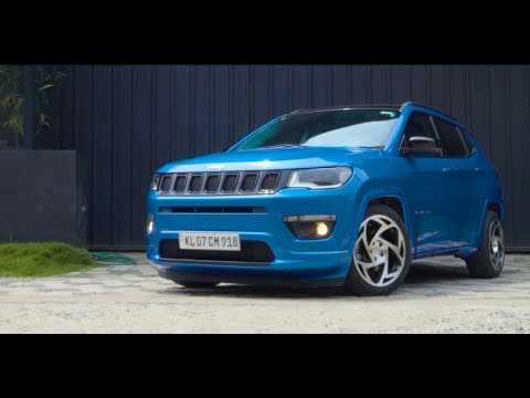 Jeep Compass | radi8 Wheels USA | GRID7 Customs | Febin Films