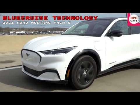 自動運転技術を進めるフォード マスタング Mach Eの自動クルーズ動画