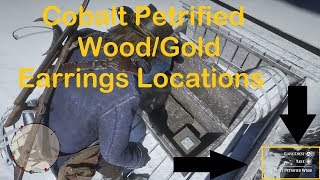 Cobalt Petrified Wood and Gold Earrings Locations For the Boar Tusk Talisman In RDR2