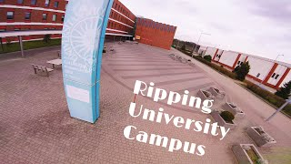 Thor 190 #3 | RIPPING UNIVERSITY CAMPUS | FPV Freestyle