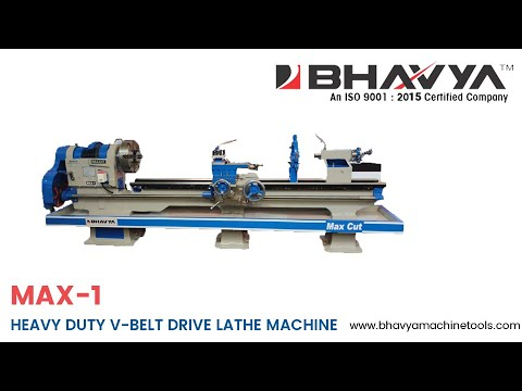 Heavy Duty V-Belt Drive Lathe Machine