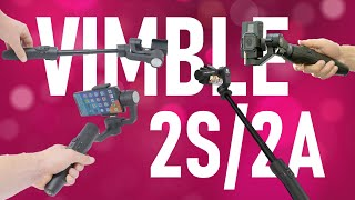 Feiyu Tech Vimble 2S/2A Review | Gimbal & Selfiestick 2020