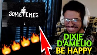 DIXIE D'AMELIO - BE HAPPY REMIX FT. BLACKBEAR & LIL MOSEY (OFFICIAL MUSIC VIDEO) (Reaction)