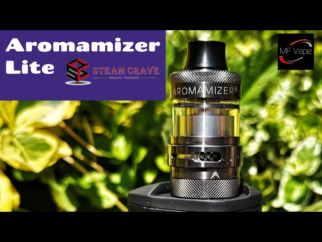Aromamizer Lite RTA | Steam Crave | Review/Rebuild | Great DTL