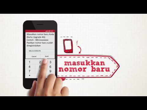 Video Telkomsel - Cara upgrade SIMCard 4G via UMB *888*46#