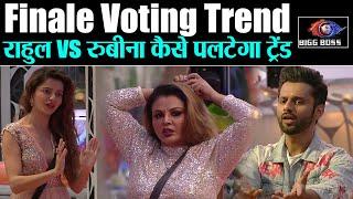 Bigg Boss 14 Finale Voting Trend%: Rahul vs Rubina, कैसे पलटेगा सीन, कौन होगा सबसे पहले बेघर ?