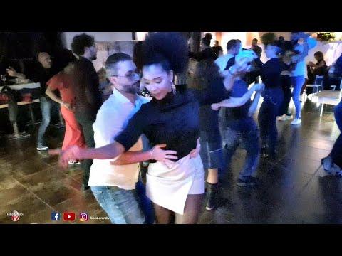 Berty Abreu & Toni Dragonetti bailando La Negra Tomasa