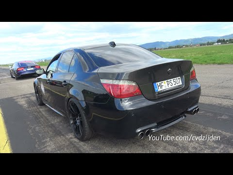 This BMW E60 M5 Has 630 HP Without a Supercharger or a Turbo