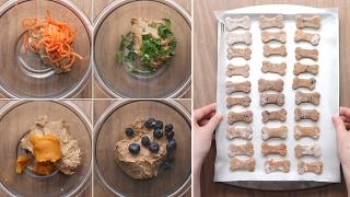 Dog Biscuits 4 Ways
