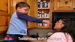 Toddler Slaps Mom In The Face! | Supernanny