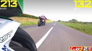1000cc⚡Speed☘️, Armoy Road Races, N.Ireland . . . . (Type Race, Isle of Man TT)
