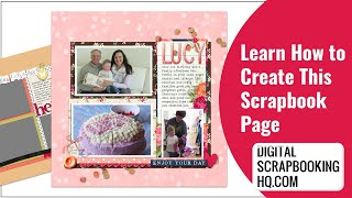 Introduction To Digital Scrapbooking With Melissa Shanhun