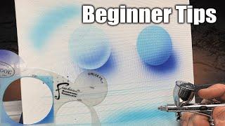 Airbrushing For Beginners | Easy Tips