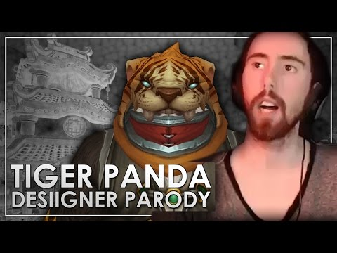 Asmongold Reacts to TIGER PANDA Song