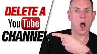 Delete A YouTube Channel