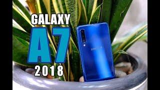 รีวิว Samsung Galaxy A7 2018   สามกล้อง ท่องโลกกว้าง